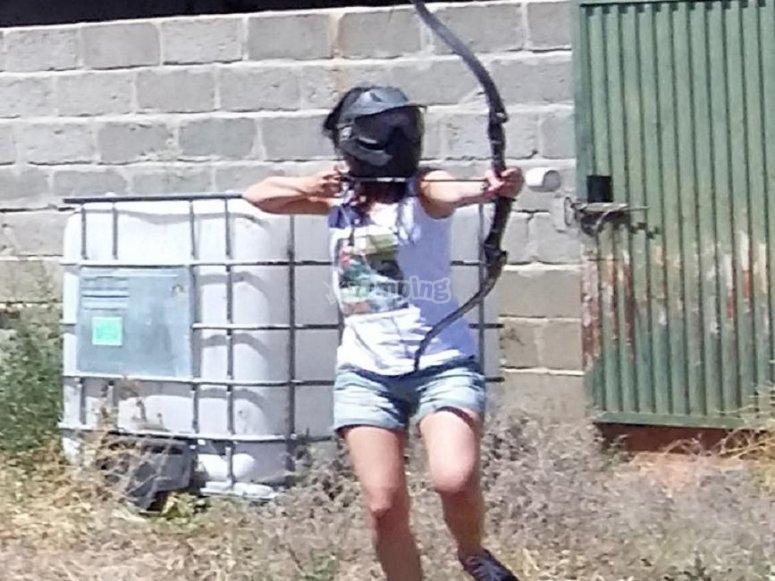 La Torrecilla archery combat