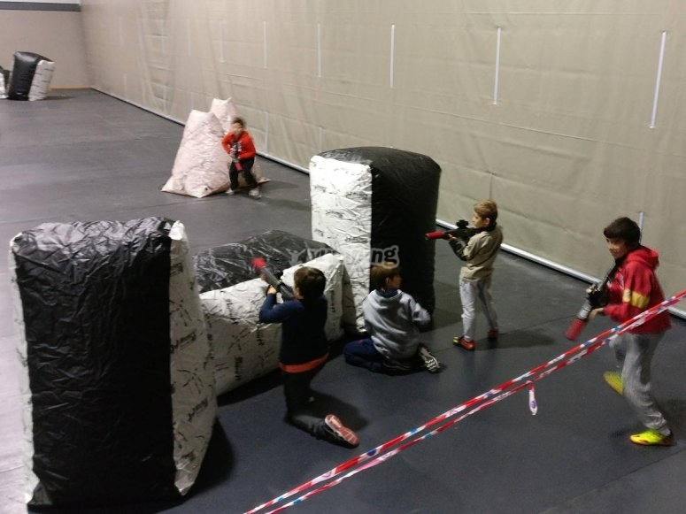 Laser tag indoor