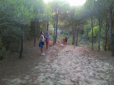 Hiking route in Los Alcornocales Park kids deal