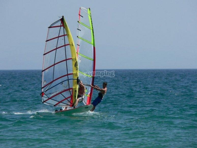 Windsurf en Roquetas