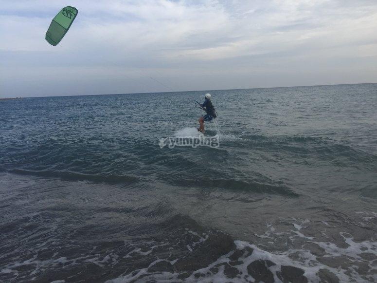 Kitesurf para colegios