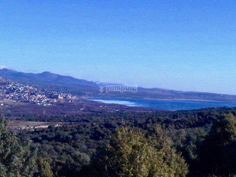 La Pedriza的风景