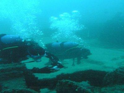 Inmersión de buceo en Cádiz sin equipo