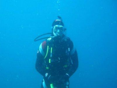 Inmersión de buceo en Cádiz + material