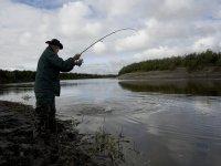 Pescando en Burguillos