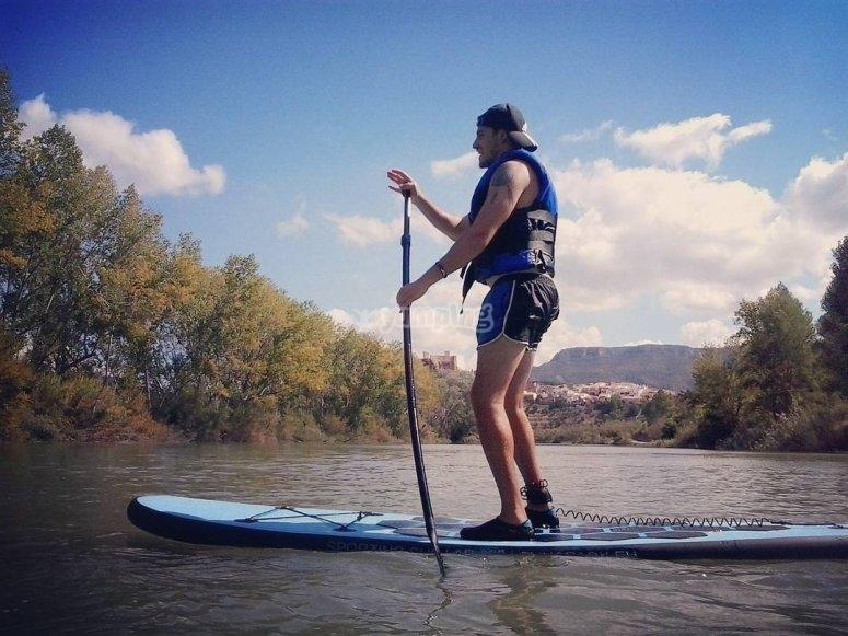 桨练习划桨冲浪