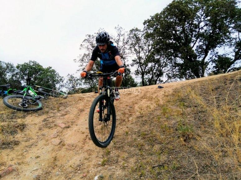Clase de mountain bike