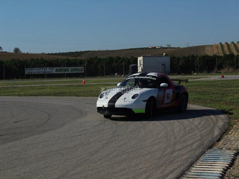 Guida Porsche a Calafat