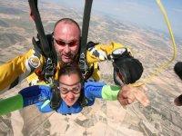 Salto desde avioneta