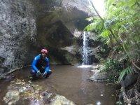 Descenso de barranco Piedra de Cochinos