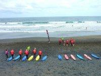 surf en posicion