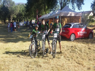 Clases de Mountain Bike Madrid de 12 a 16 años.