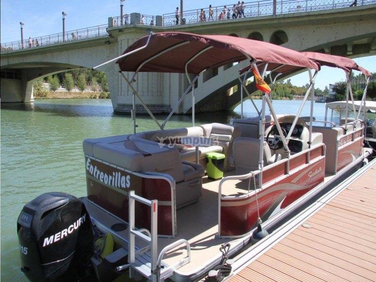 Barco en exclusiva en Sevilla