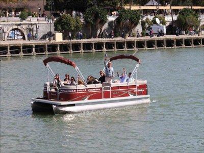 Ruta exclusiva en barco por el Guadalquivir 2h