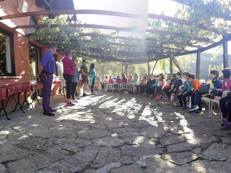 Campamento de inglés en San Martín de Unx