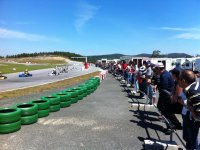Circuito de karting outdoor