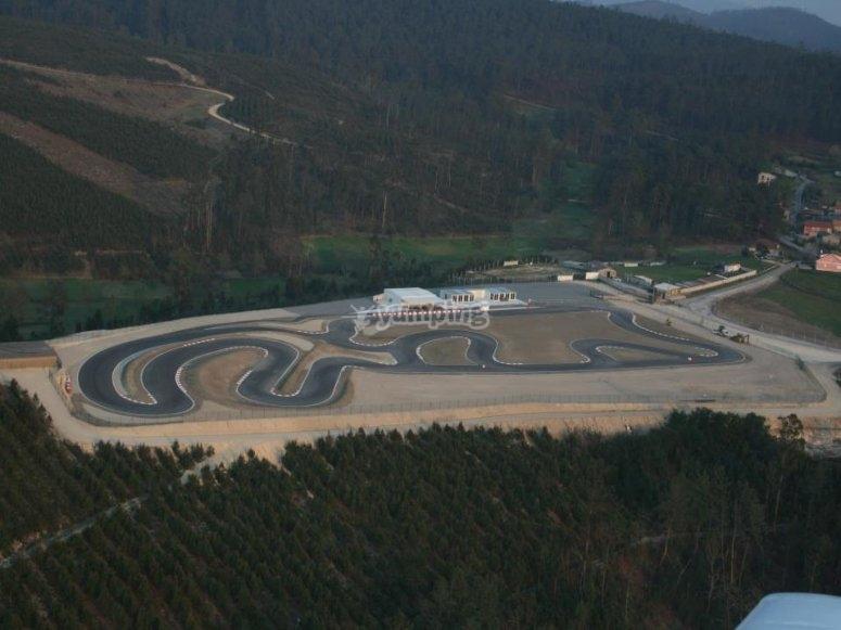 Vista aerea de nuestro circuito