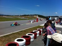Karting mini GP championship at Valga