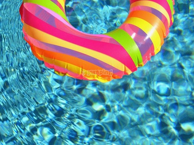 Pool party en Navalcarnero