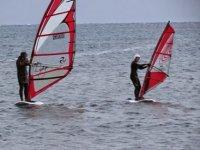 Navigate on a windsurf