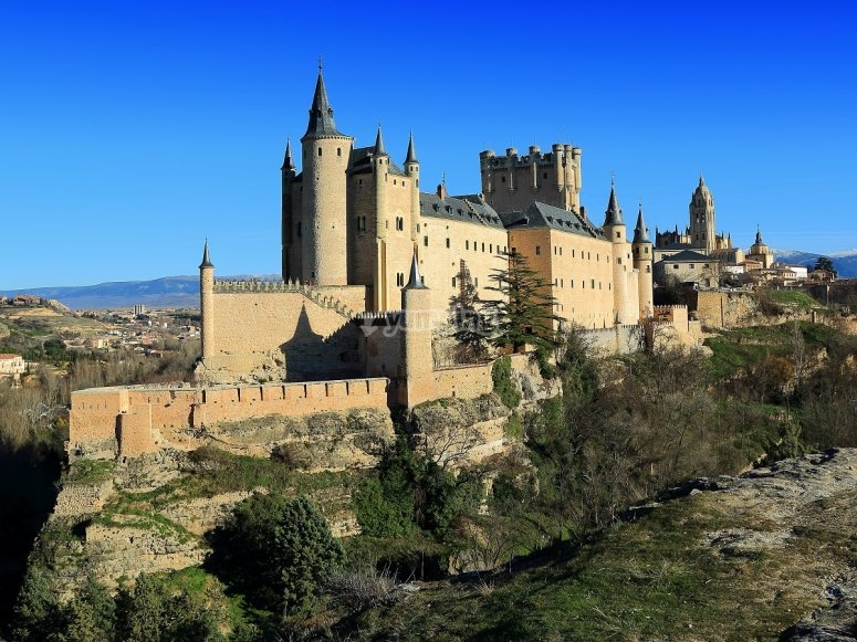 Visita guiada en Segovia