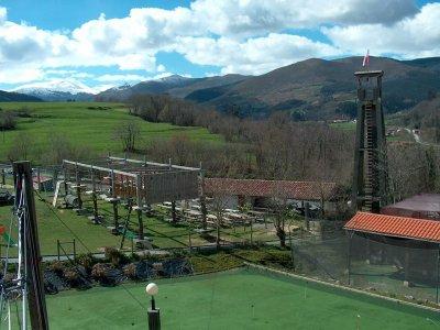 Taller en la naturaleza para colegios Cabuérniga