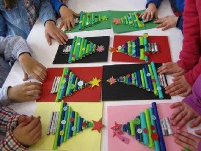 儿童在格拉纳达的圣诞工作坊4天