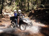El Parque Nacional del Teide en quad