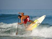 成为专业划桨冲浪