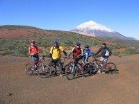 Disfruta del paisaje del Teide