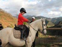 Paseo a caballo para niños en Valle de Liébana 1h