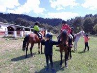 Rutas caballo en los campamentos