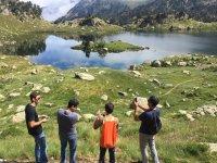 Team Building en la montana