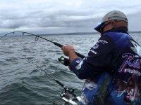Pescando desde el barco