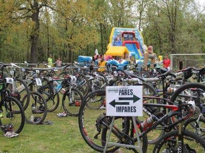 全天MTB路线与自行车