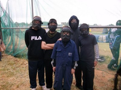 Paintball for Kids in La Carlota: 50 Balls & Water