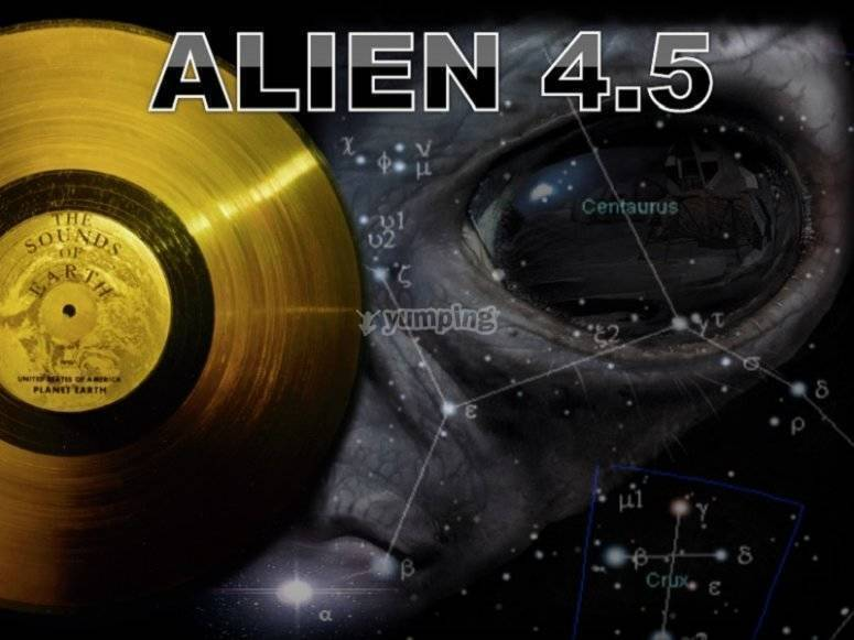 Escape room Alien 4.5