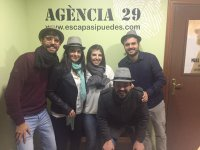 Escape room de misterio en Montjuic