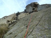 Ascendiendo mediante la escalada