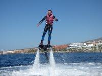飞天滑伞享受Flyboard Flyboard