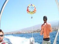 Vista desde la barca