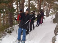 In Canencia with snowshoes .JPG