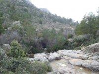 Section of La Pedriza