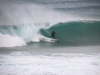 Surfing in Santander