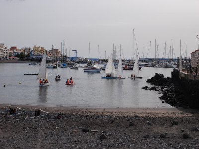 16-Hour Dinghy Sailing Course in Las Galletas