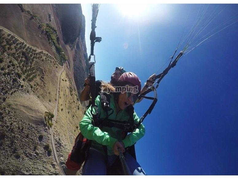 滑翔伞特技