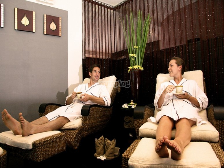 Chill out at the spa
