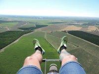 从空中动力伞起飞场
