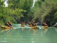 Salida en kayak por Teruel
