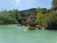 Descubriendo el entorno del río Guadalope en kayak